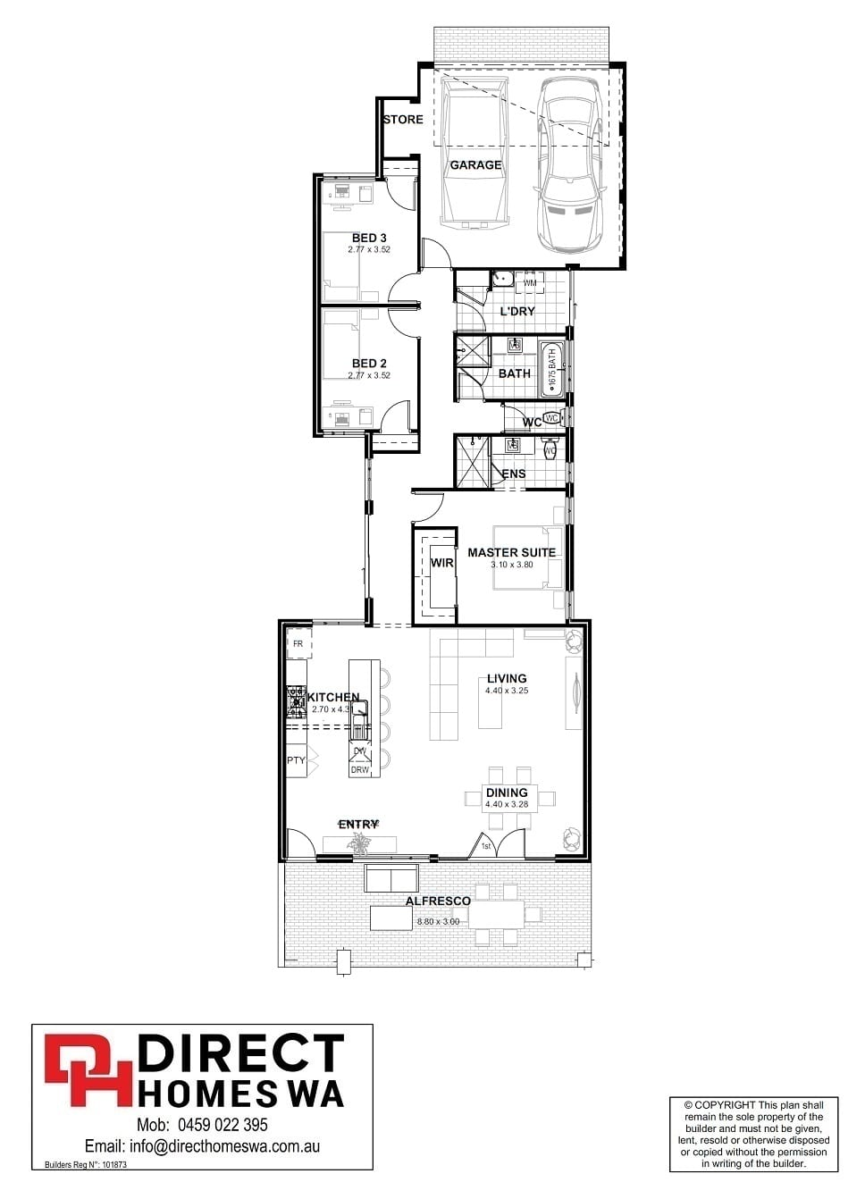The Provoleta Floor plan