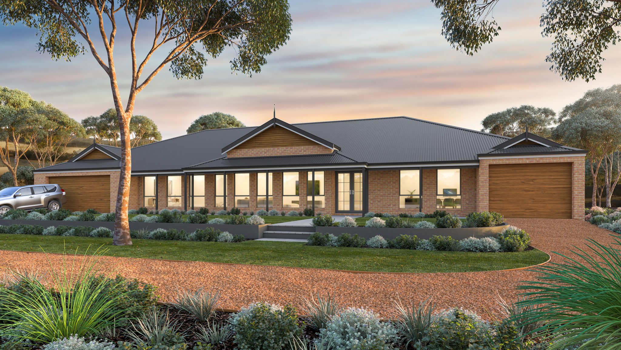 The oakford dual living farmhouse direct homes wa Dual living house plans sale
