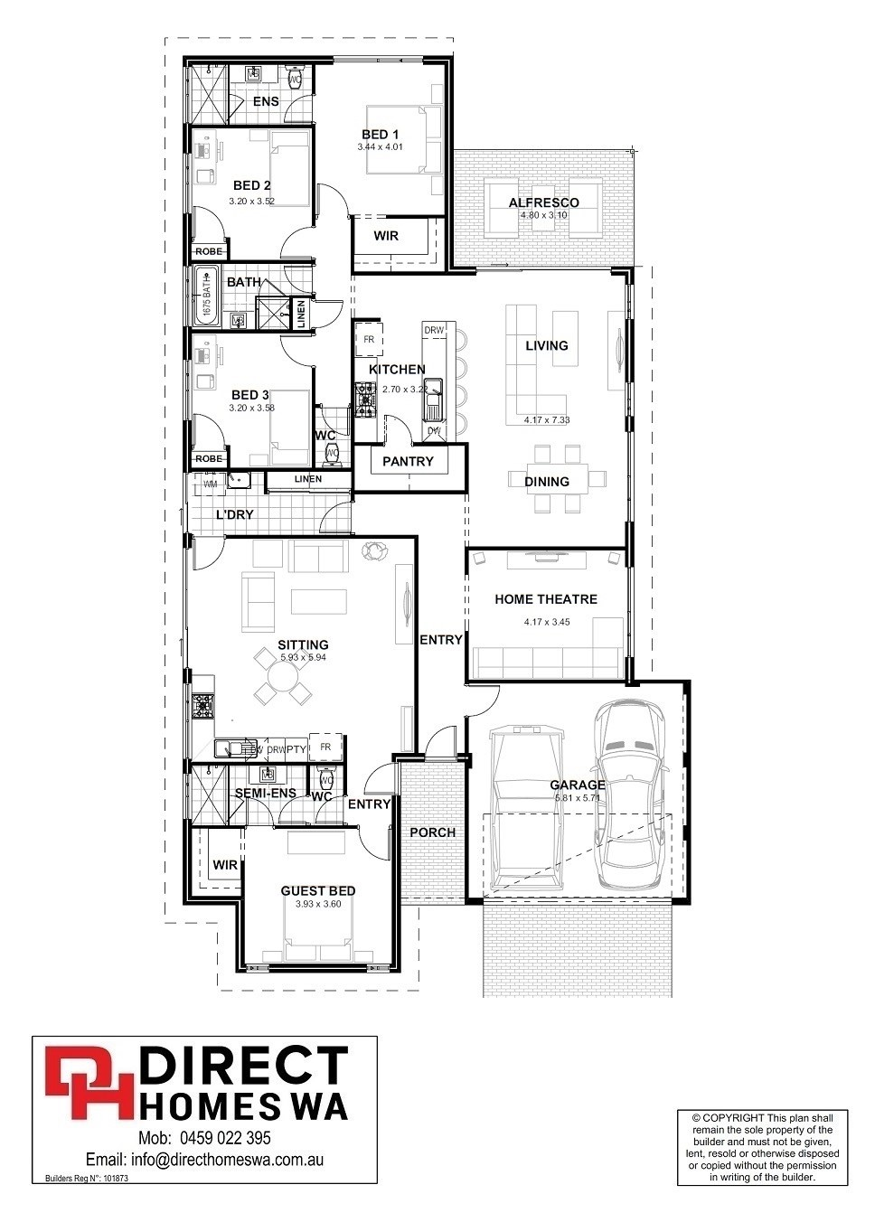 Superb The Soave Floor Plan
